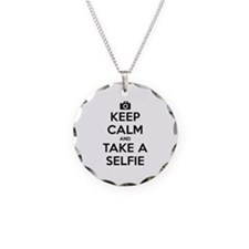 Keep Calm and Take a Selfie Necklace