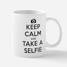 Keep Calm and Take a Selfie Mug