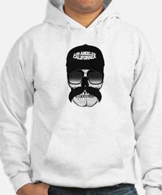 Skull and mustache Hoodie