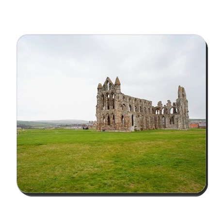 Ruins of Whitbt Abbey Mousepad