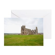 Ruins of Whitbt Abbey Greeting Card