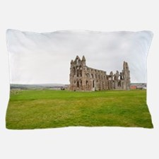 Ruins of Whitbt Abbey Pillow Case