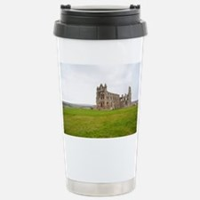 Ruins of Whitbt Abbey Stainless Steel Travel Mug