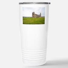 Ruins of Whitbt Abbey Travel Mug