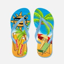 Retired And Relaxed Flip Flops