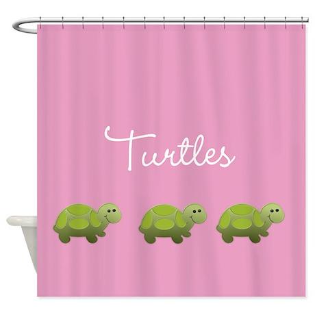 Little Turtle Shower Curtain