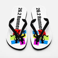 Marathon Runner Flip Flops