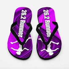 Run Marathons Flip Flops