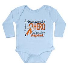 Leukemia Heaven Needed Long Sleeve Infant Bodysuit