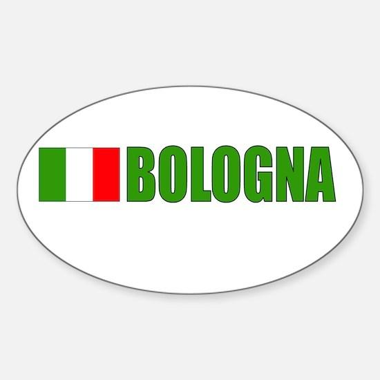 Bologna, Italy Oval Decal