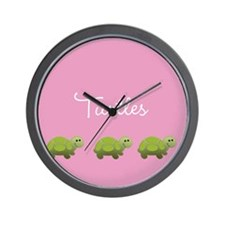 Little Turtles Wall Clock