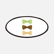 Colored Bowtie Clothing Patches