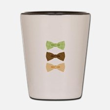 Colored Bowtie Clothing Shot Glass