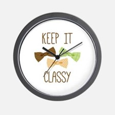 Keep It Classy Wall Clock