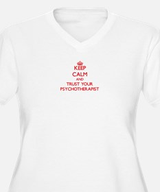Keep Calm and trust your Psychotherapist Plus Size