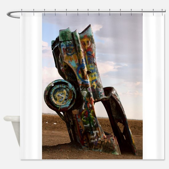 Cadillac Shower Curtain