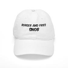 Burger And Fries Baseball Cap