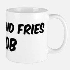 Burger And Fries Mug