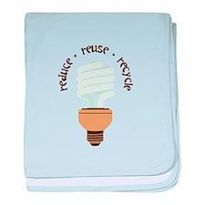 Reduce.Reuse.Recycle baby blanket