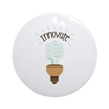 Innovate Ornament (Round)