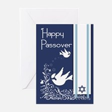 Dove For Passover Greeting Cards (pk Of 20)
