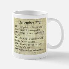 December 27th Mugs