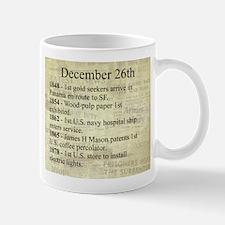 December 26th Mugs