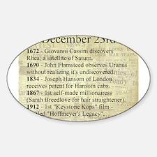 December 23rd Decal