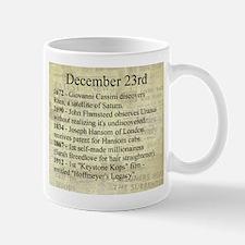 December 23rd Mugs