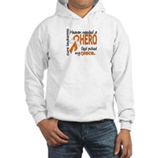 Leukemia Heaven Needed Hero Hoodie