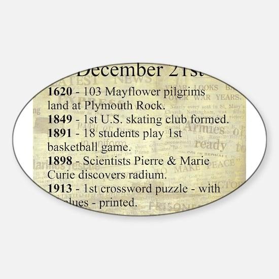 December 21st Decal