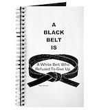 Black belt Journals & Spiral Notebooks