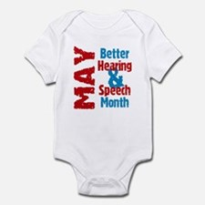 Hearing & Speech Month Infant Bodysuit