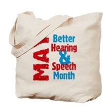Hearing & Speech Month Tote Bag