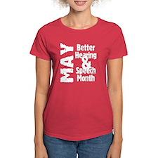 Hearing & Speech Month Tee