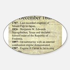 December 16th Decal