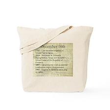 December 16th Tote Bag
