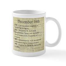 December 16th Mugs
