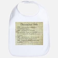 December 16th Bib