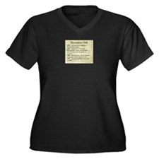 December 16th Plus Size T-Shirt
