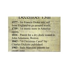 December 13th Magnets