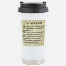 December 12th Travel Mug