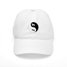 Yin Yang Dog Symbol Baseball Baseball Cap