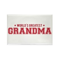 Worlds greatest grandma Magnets