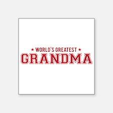 Worlds greatest grandma Sticker