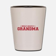 Worlds greatest grandma Shot Glass