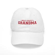Worlds greatest grandma Baseball Baseball Cap