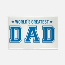 Worlds greatest dad Magnets