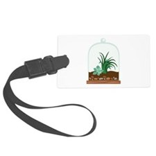 Plant Terrarium Luggage Tag