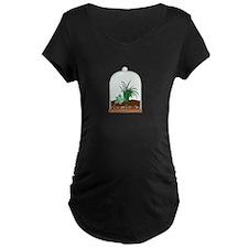 Plant Terrarium Maternity T-Shirt